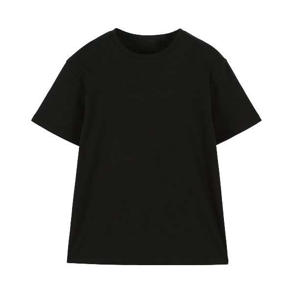 ORE COTTON 002 Basic T-shirt Washed black