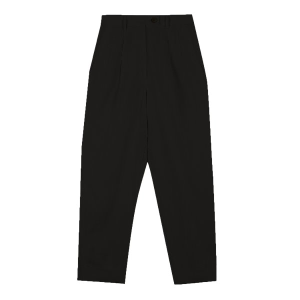 Ore Moa slacks linen (BLACK)