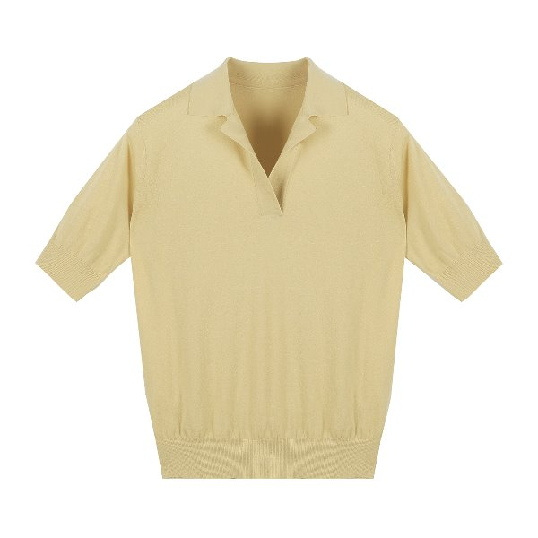 Ore Knitted collar p/o (BUTTER YELLOW)