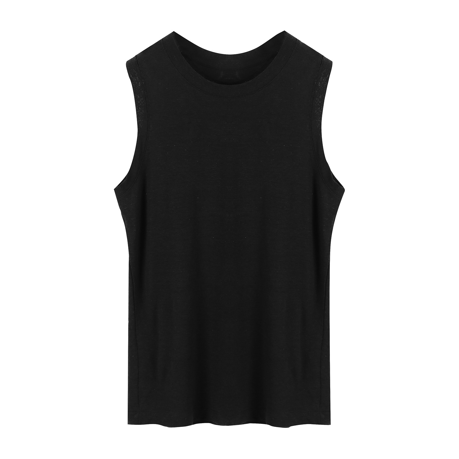 ORE COTTON 004 Sleeveless Black