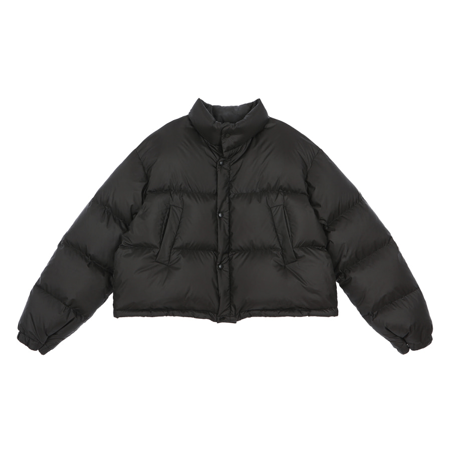Achu puffy jumper black