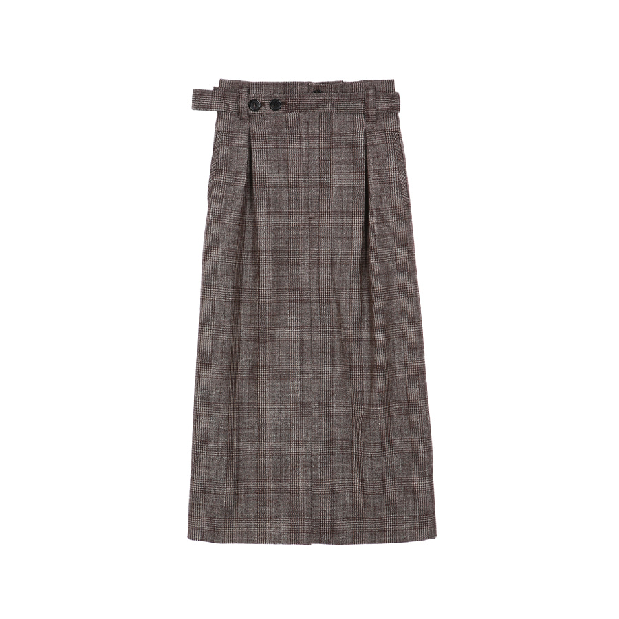 Merlin skirt Loro piana checked