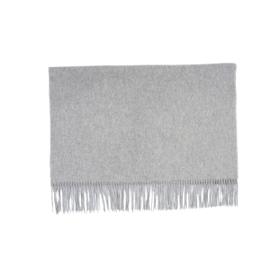 Cashmere muffler solid
