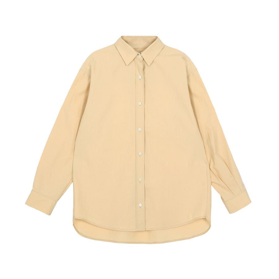 Loose fit shirt Vanilla