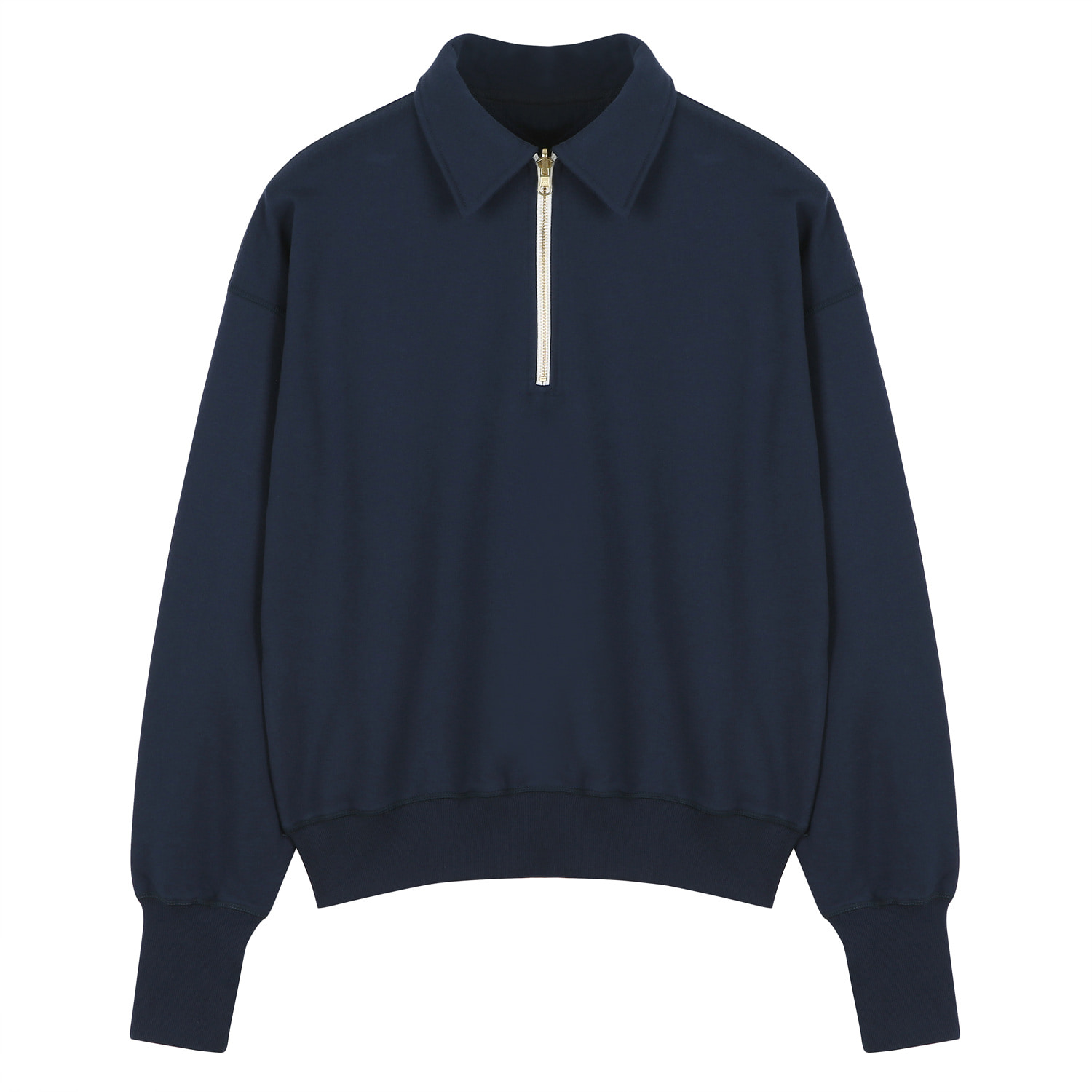 7th RE) ORE COTTON 001 zip-up Navy [06.02(TUE)14:00 재입고]