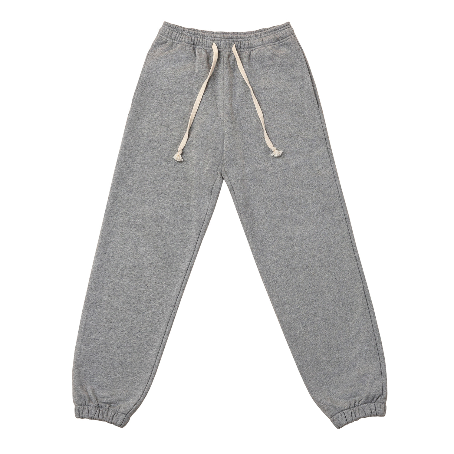 2nd RE) ORE COTTON 005 jogger PT M.Grey