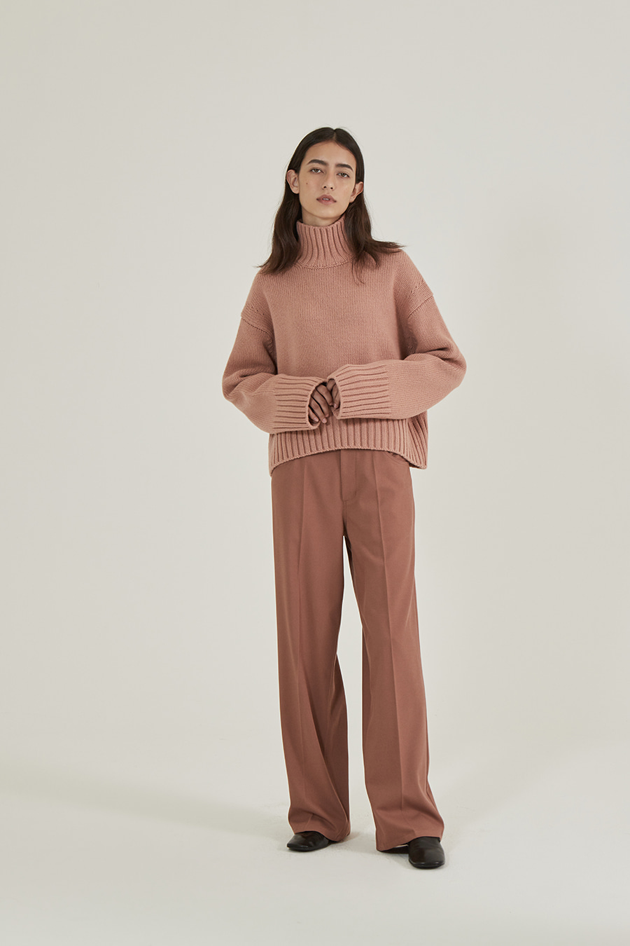 [Re] Straight fit Twill PT Rust Pink