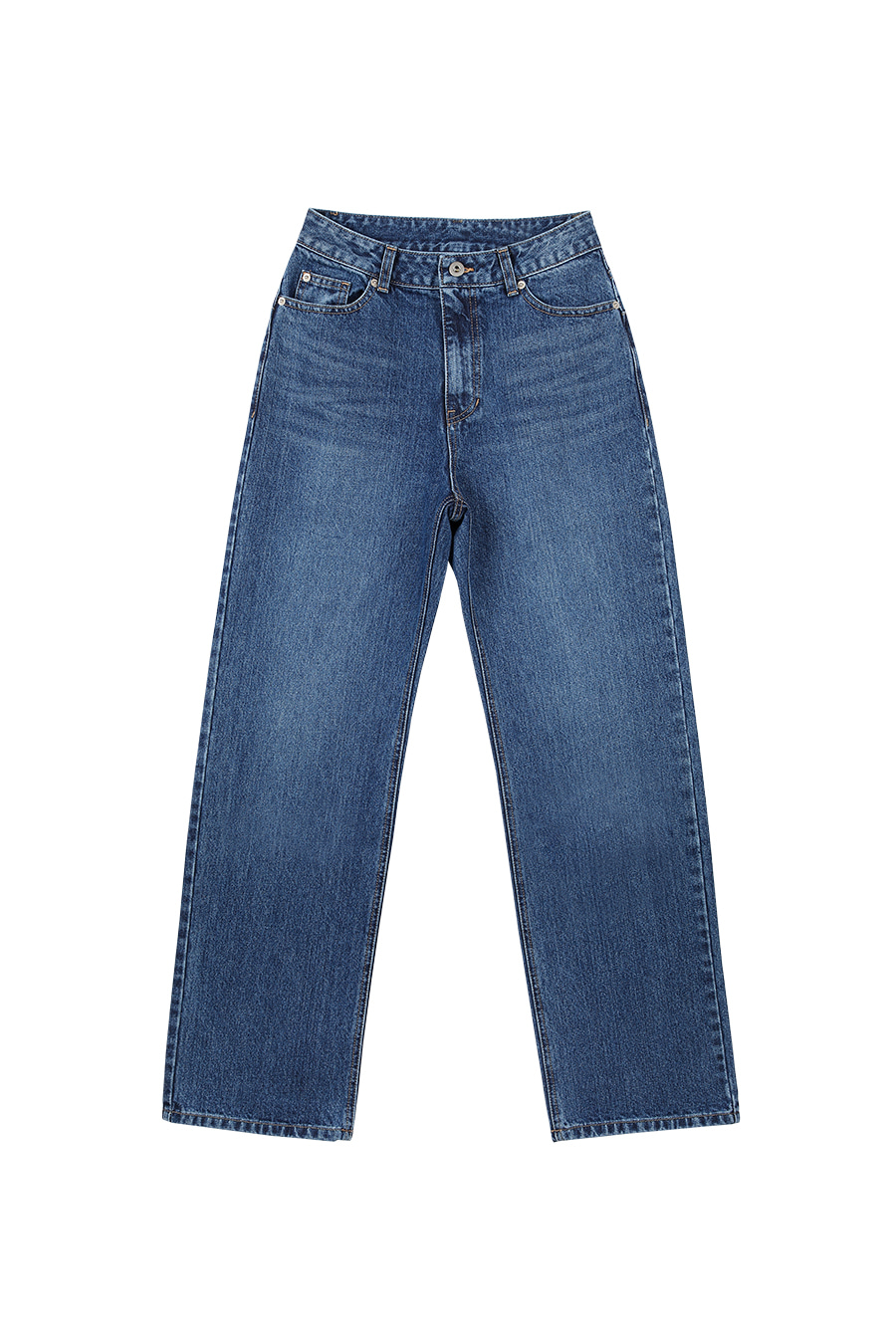 Jeans Midrise Straight fit Mid Blue
